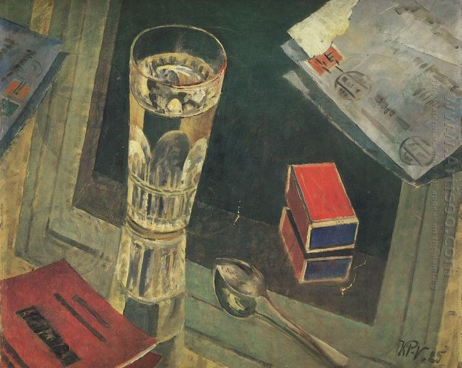 Still Life With Letters 1925