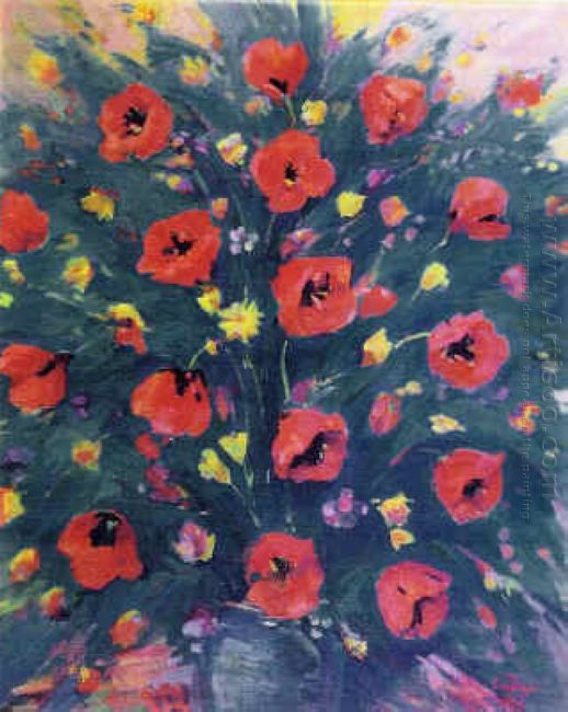 Still Life With Poppies 1953