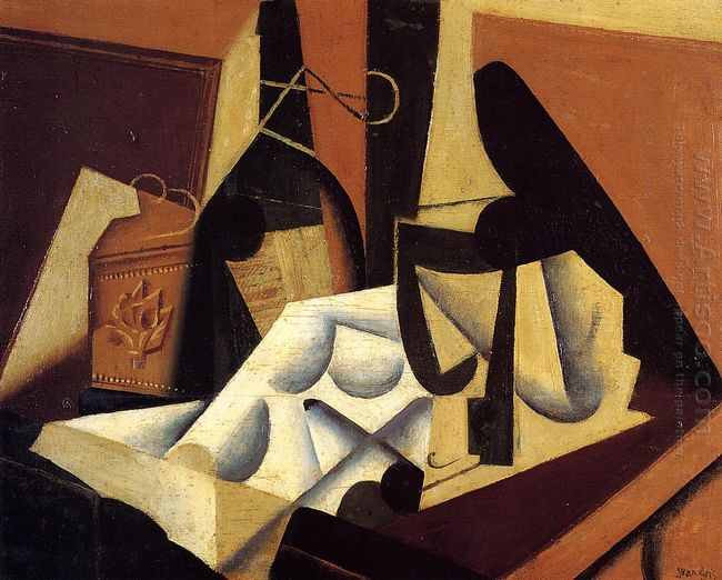 Still Life With White Tablecloth 1916