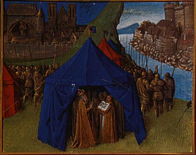 St Jacques Appears To Charlemagne 1460