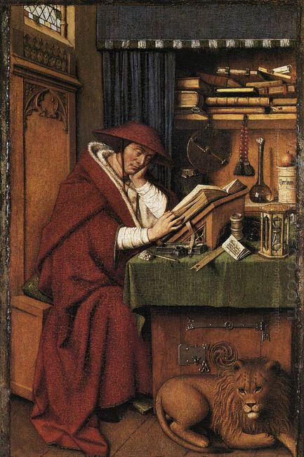 St Jerome In His Study 1432
