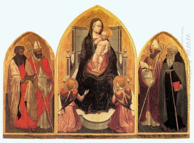 St Juvenal Triptych 1422