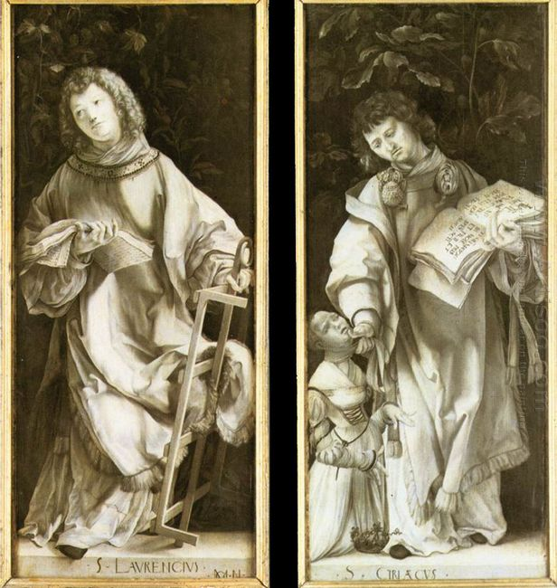 St Lawrence And St Cyricus 1511