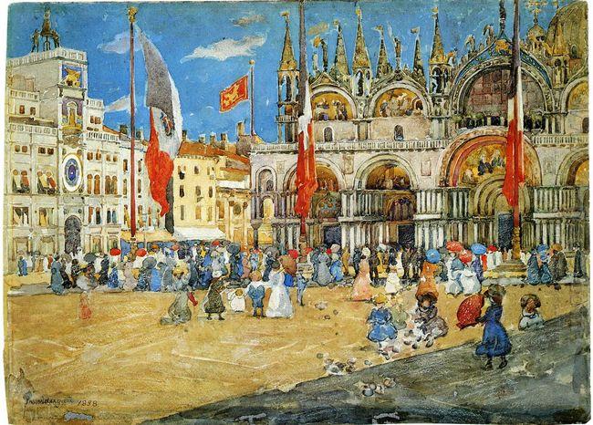 St Mark S Venice 1898