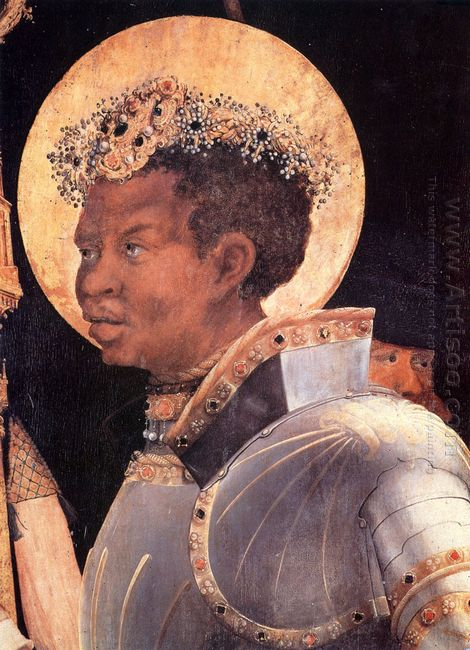 St Maurice Detail From The Meeting Of St Erasmus And St Maurice