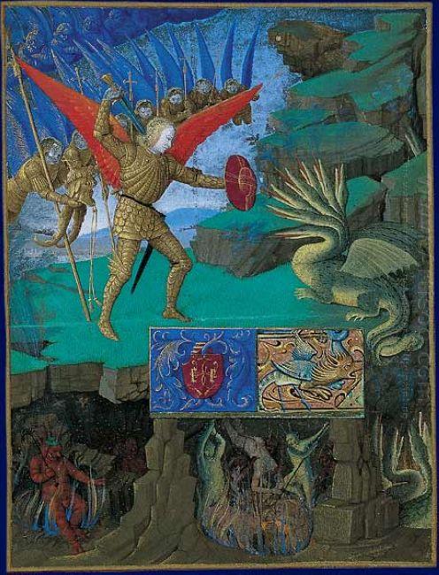 St Michael Slaying The Dragon