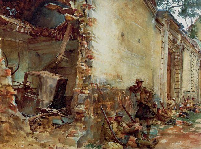 Street In Arras 1918