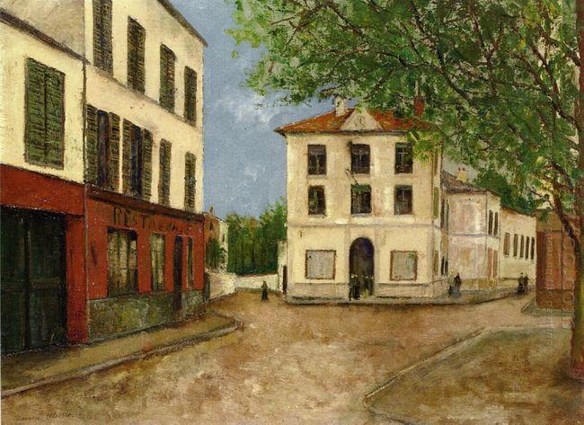 Street In Nanterre