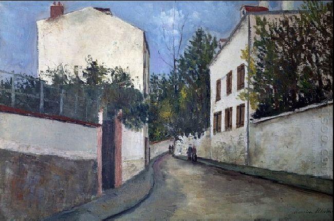 Street In Sannois