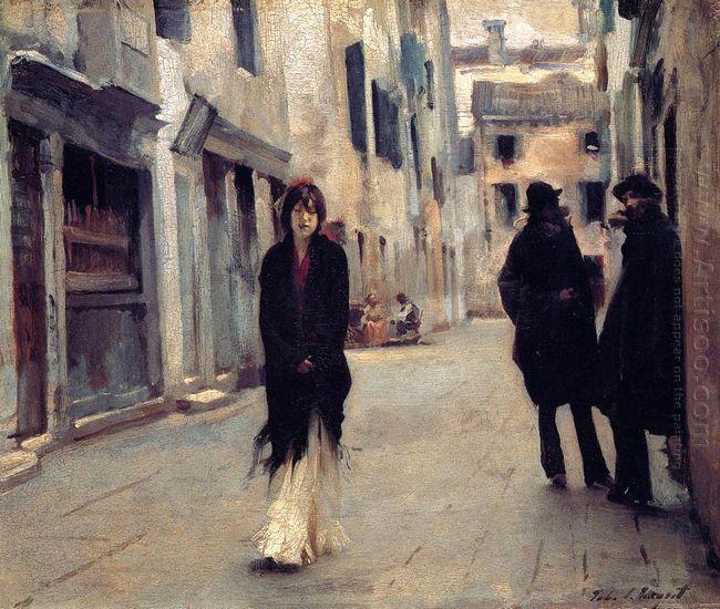 Street In Venice 1882