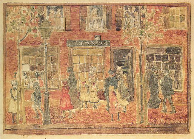 Street Scene 1894