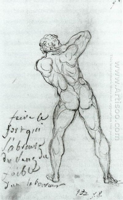 Study After Michelangelo 1790