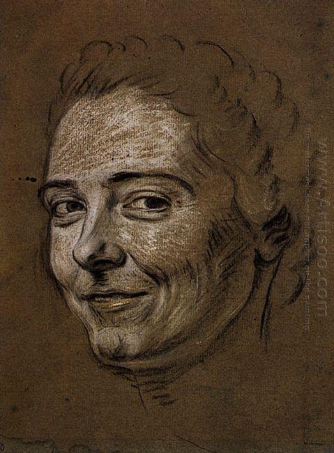 Study For Portrait Of Mademoiselle Dangeville