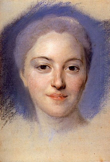 Study For Portrait Of Unknown Woman 1