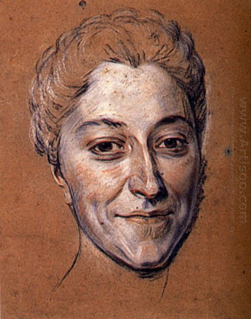 Study For Portrait Of Unknown Woman 4