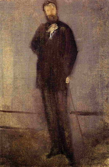 Study For The Portrait Of F R Leyland 1873