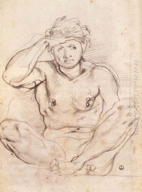 Study For Vertumnus And Pomona 1519