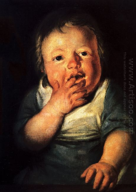 Study Of Little Child 1626