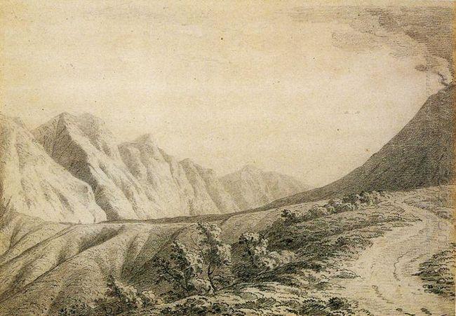 Study Of The Terrain Near Vesuvius