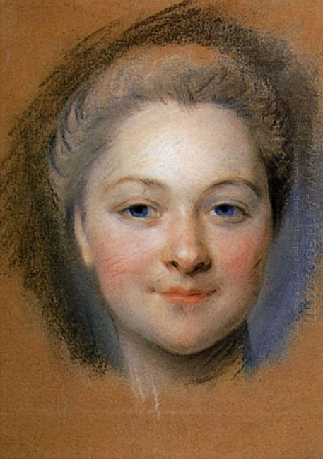 Study To Portrait Of Unknown Woman
