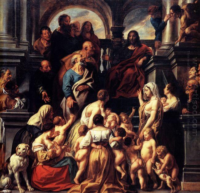 Suffer The Little Children 1655