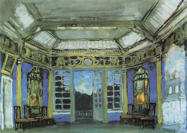 Summer Office Of Prince Vasily Golitsyn 1911