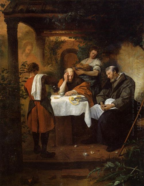 Supper At Emmaus 1668