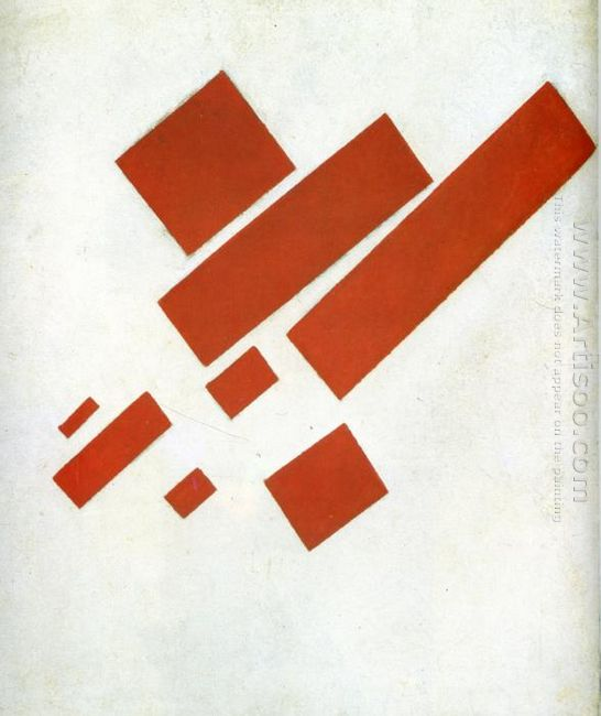 Suprematism Two Dimensional Self Portrait 1915