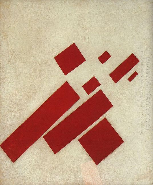 Suprematism With Eight Rectangles 1915
