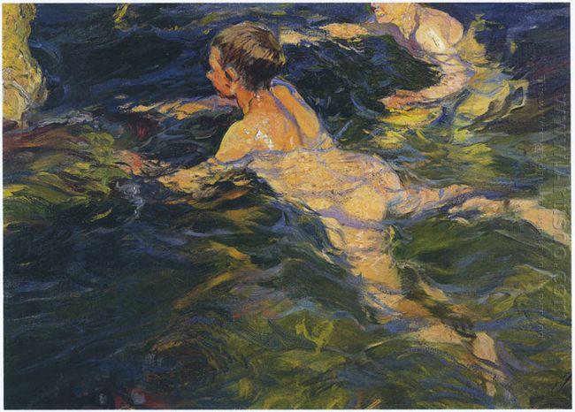 Swimmers Javea 1905