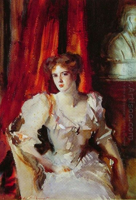 Sybil Frances Grey Later Lady Eden 1905
