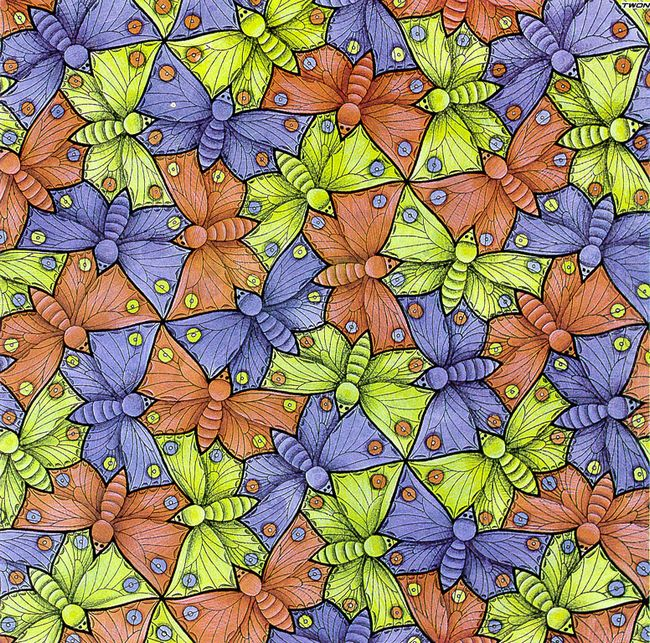 Symmetry Watercolor 70 Butterfly