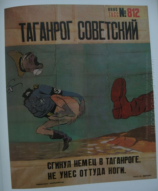 Taganrog Is Soviet Again The Tass Window 812 1943