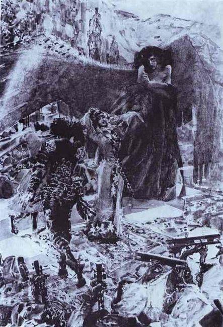 Tamara Dancing 1891