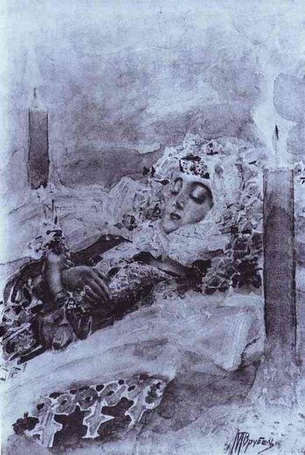 Tamara Lying In State 1891