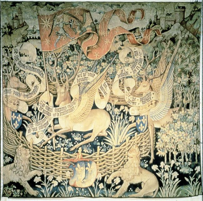 Tapestry Of The Winged Deers