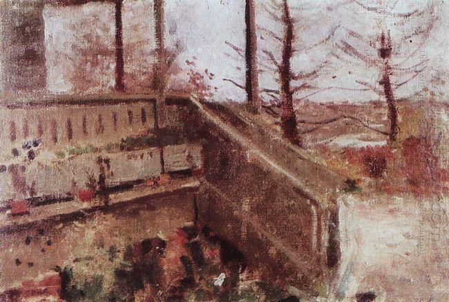 Terrace In Zhukovka 1888