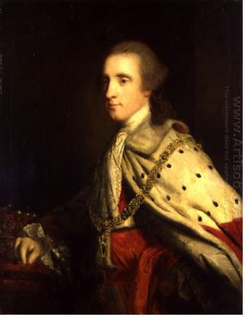 The 4Th Duke Of Queensbury As Earl Of March 1760