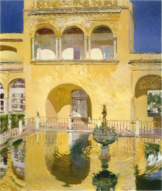 The Alcazat Seville 1908