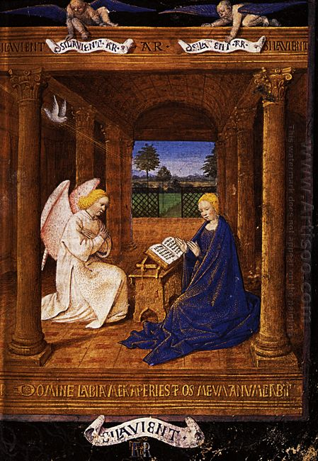 The Annunciation Dove 1465