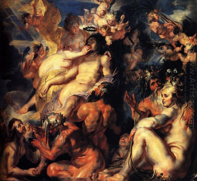 The Apotheosis Of Aeneas 1617
