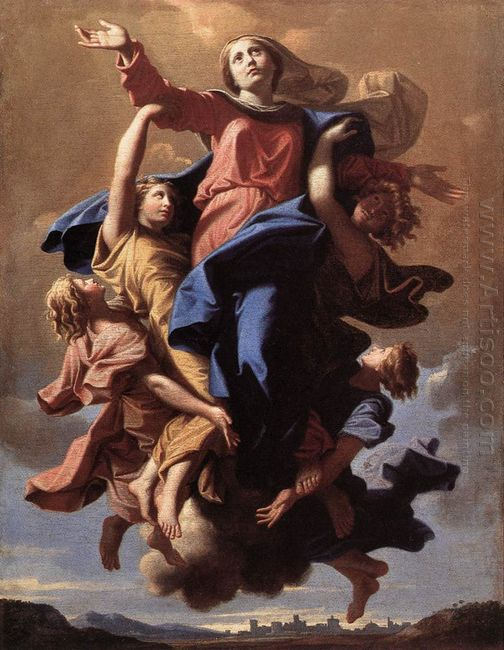 The Assumption Of The Virgin 1650