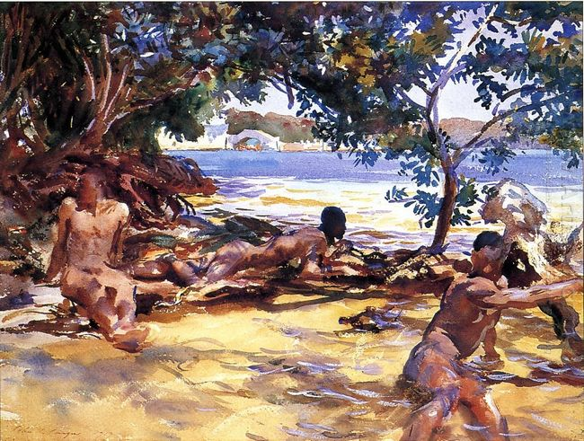 The Bathers 1917