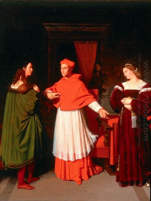 The Betrothal Of Raphael And The Niece Of Cardinal Bibbiena 1814