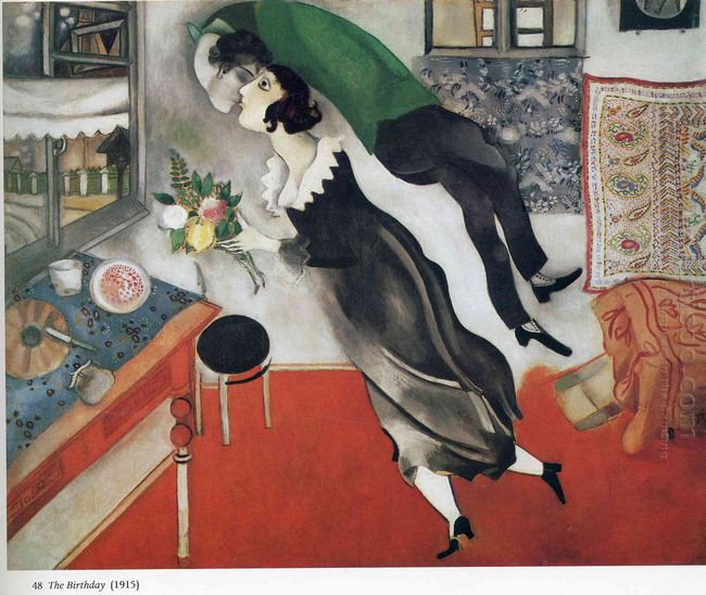 I and The Village by Marc Chagall | Oil Painting Blog