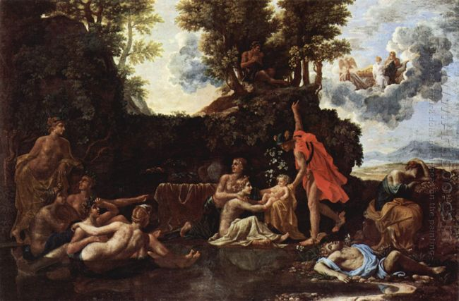 The Birth Of Baccus 1657