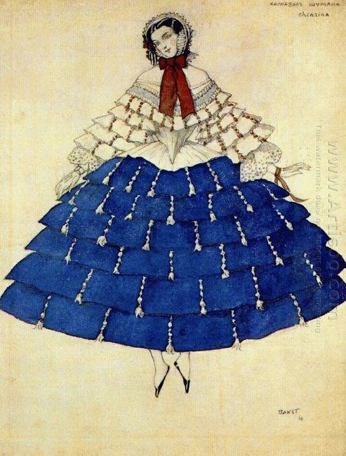 The Carnival Chiarina 1910