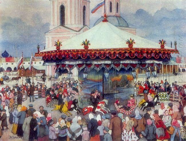 The Carousel 1913