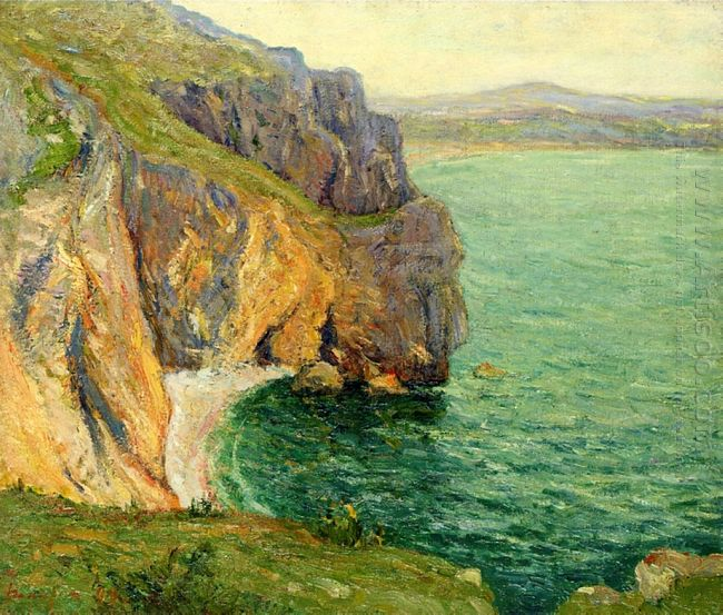 The Cliffs At Polhor 1899