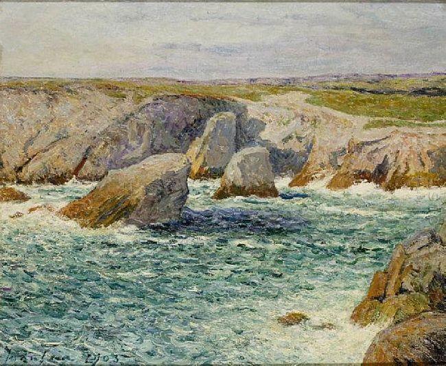 The Creek Shore Of Quibero 1903